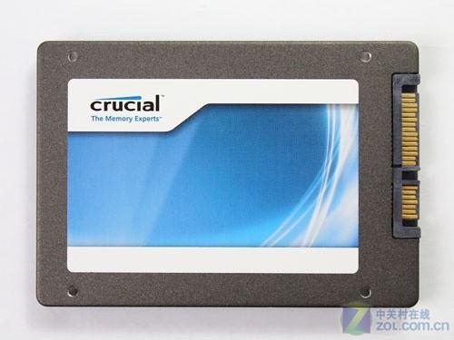 镁光Crucial M4 64GB固态硬盘外形